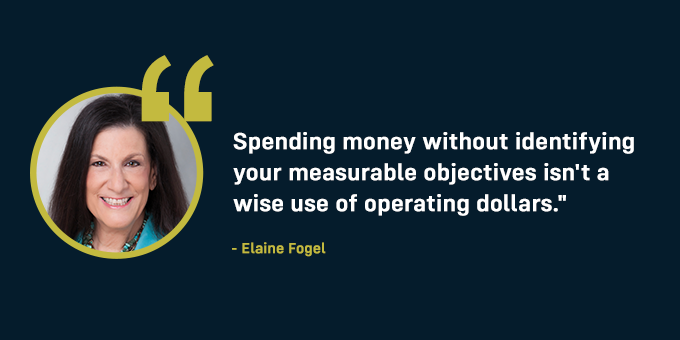 Have measurable objectives.