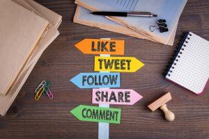 Blog posts and social media