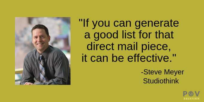 Generating a good list can be effective.