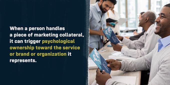 Handling something can trigger psychological ownership.