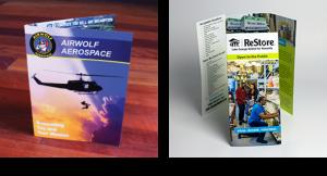 Bi-fold and Tri-fold brochures